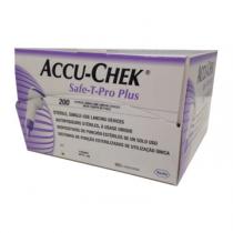 ACCU-CHEK Safe-T-Pro Uno lancets 200's