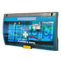 Pull 'n' Open Plaster Dispenser Fabric & Wipes