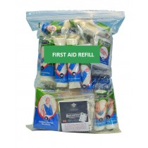 HSA Travel First Aid Kit Refill (Incl eye wash & burns)