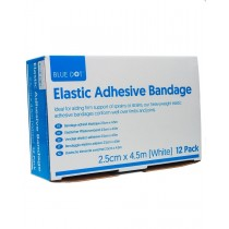 Blue Dot Elastic Adhesive Bandage 2.5cm x 4.5m (EAB) Box of 12