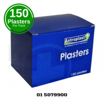 Fabric Assorted & Shaped Plasters (150) Box