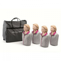 Laerdal Little Anne QCPR Training Manikin 4 Pack
