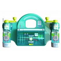 Twist 'n' Open Eye Wash Station With Eye Pod Dispenser