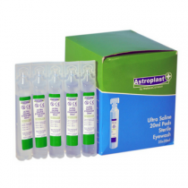 Sterile Eye Wash Eye Pods Saline 25 x 20ml Box