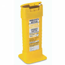 BioSafe Biohazard 0.6 Litre Sharps Disposal Container