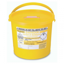 BioSafe Biohazard 7 Litre Sharps Disposal Container