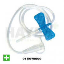 Winged Infusion Set Blue 23G 0.6mm x 19mm