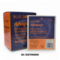 Advapore Adhesive Wound Dressing 9cm x 10cm (50) Box