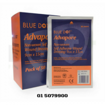 Advapore Adhesive Wound Dressing 9cm x 15cm (50) Box