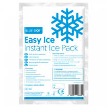 Blue Dot Easy Ice Multilingual Instant Ice Pack
