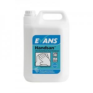 Handsan™ 70% Alcohol-Based Hand Disinfectant Gel 5 Ltr