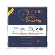 Blue Dot Small Burn Stop Dressing 10cm x 10cm