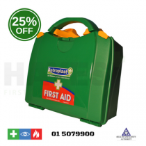 Green Box HSA Travel First Aid Kit (Incl. Eye Wash & Burns)