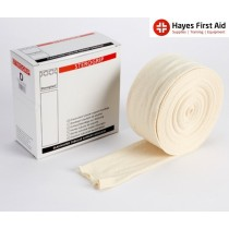 Elasticated Tubular Support Bandage Size F 10cm x 10m