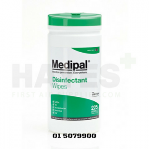 Medipal Healthcare Disinfectant Wipes Canister 200
